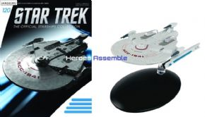 Star Trek Official Starships Collection #120 USS Bozeman Miranda Class Eaglemoss